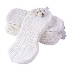 2 szt. 12 warstw bawełny orzechowe pielucha dla niemowląt gaza zmywalna ściereczka do noworodka miękkie dopasowane pieluchy