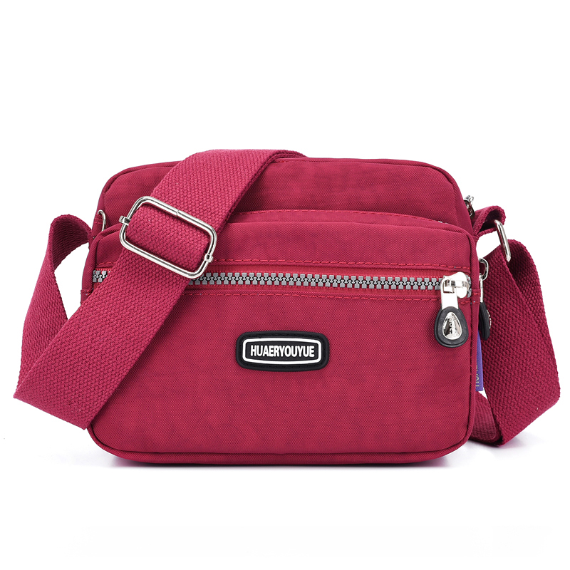 New Wide Strap Crossbody Bags For Women 2019 Nylon Letter Shoulder Bag Women's Messenger Bag Fashion Casual Bolso Mujer