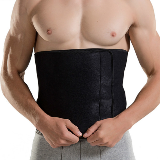 Fitness Sports Waist Support Belt Bodybuilding Sweat Belt Shaper Abdomen Back Lumbar Brace Waist Trainer Corset Slimming Trimmer