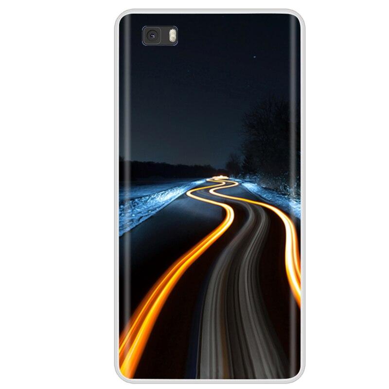 Pour Coque Huawei P8 Lite étui en Silicone housse de téléphone pour Huawei P8 Lite 2016 ALE-L21 étui Funda Huawei P8 Lite 2015 housse