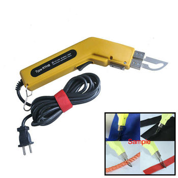 100W Electric Knife Hot Fabric Leather Cutter Heating Knife Cloth Rope Cutting electric cloth knife 220v 110v 170w fabric cutting tools leather cloth electric cutter machine blade power tools cutting saws