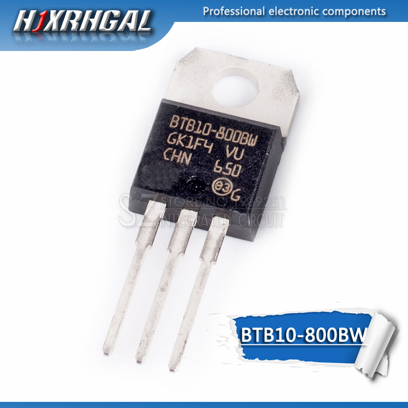 1pcs BTB10-800BW TO-220 BTB10800BW TO220