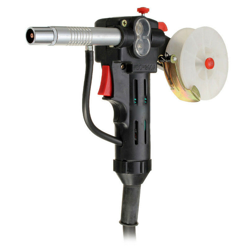 Spool Torch Gas Welding Tool Push-Pull NBC 200A 24V W/ Four-Pin Plug MIG Spool Welding Tool With Four-Pin Plug Tools Parts 2020