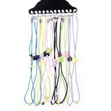 12pcs Children Kids Eyeglass/Spectacles/Eyewear Neck Cord String Holder---Ran Color