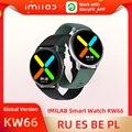 Смарт-часы IMILAB KW66 для мужчин и женщин, Bluetooth 5,0, спортивный фитнес-трекер, часы с пульсометром, водозащита IP68, Смарт-часы