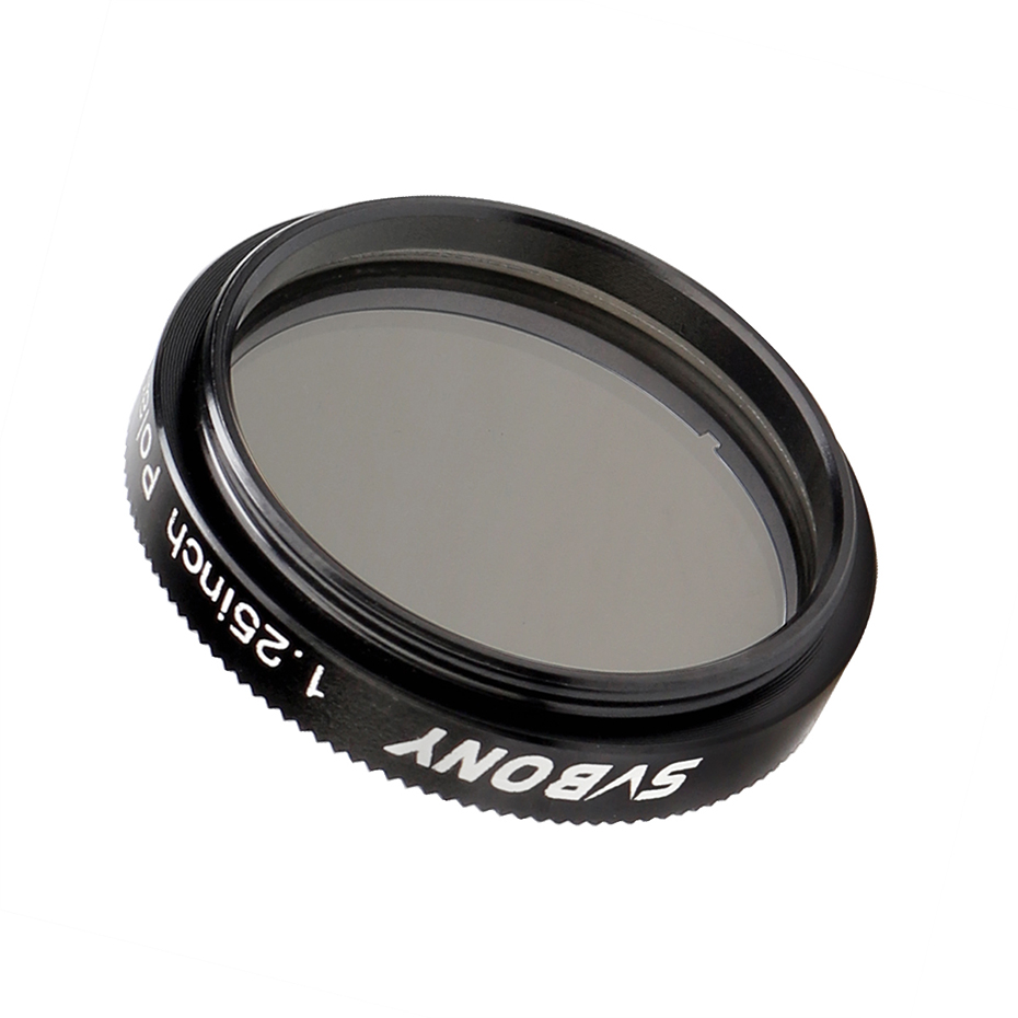 cheapest SVBONY 1 25   Polarizing Filter Linear for Telescope Astronomy  amp  Eyepiece Increasing Contrast Reduce Glare Increase Detail F9165