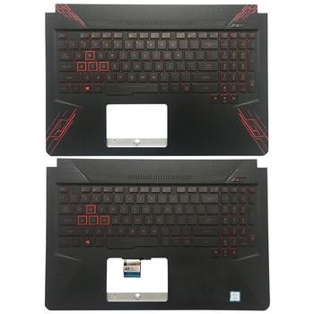 95%NEW Original For ASUS TUF Gaming FX504 FX86 FX86S FX505 FX80 FX80G FX80GD Laptop Palmrest Upper Case US Backlight keyboard original laptop for asus x540 x540l x540la x544 x540lj x540s x540sa x540sc r540 palmrest upper case us uk keyboard gold silver