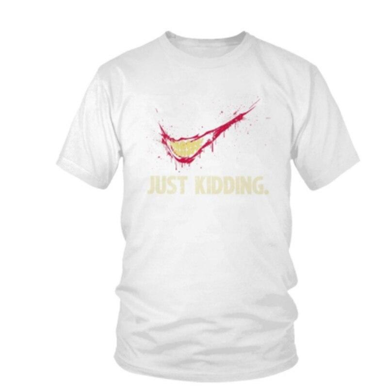 Lus Los Funny Joker Harajuku Men T-shirt Male Romeo T Shirt Tops Fashion Big Size Streetwear Graphic Tees Hip Hop tshirt