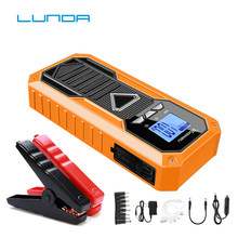 Diesel Car Jump Starter Vehicle Emergency Battery Portable 12V External Car Battery Booster Multi-function Power Bank Pack(China)