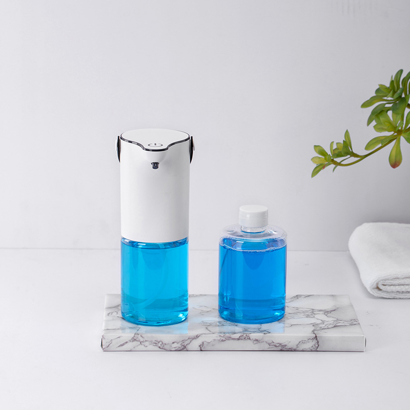Liquid Soap Dispenser 320Ml Automatic Smart Touchless USB ABS Electroplated Sensor Hand Sanitizer Bottle for Kitchen Bathroom