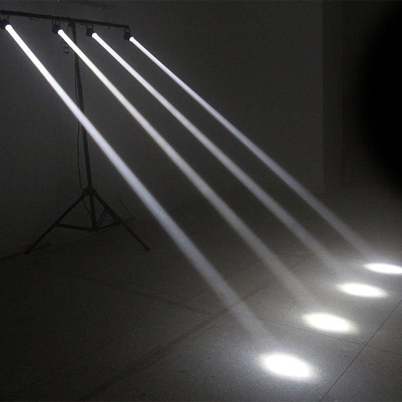Светодиодный сценический луч светильник мини принадлежности для свадебных церемоний диско вечерние луч Точечный светильник диско светильник лазерный проектор для сценического освещения Smart Dj оборудование - Цвет: White