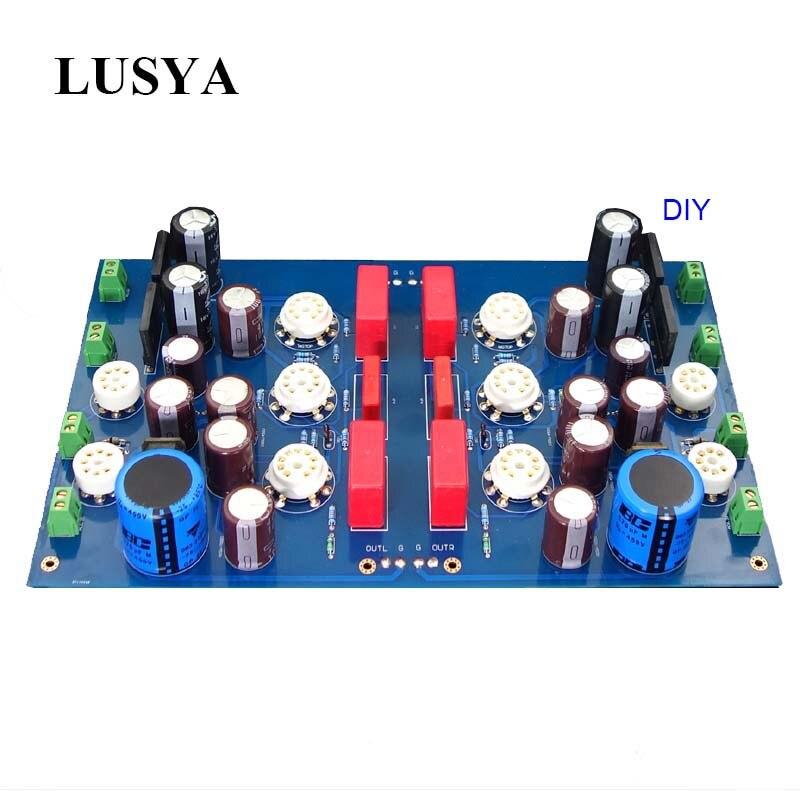 Lusya bricolage Kits 12AX7 tube amplificateur de puissance carte JP200 HIFI Tube préamplificateur bricolage carte T0842