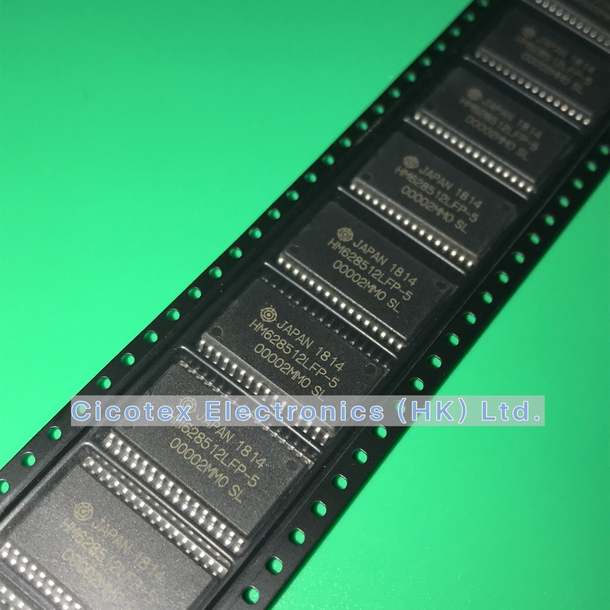 5pcs/lot HM628512LFP-5 SOP32 HM <font><b>628512</b></font> LFP-5 524288-word x 8-bit High Speed CMOS Static RAM HM628512LFP5 image