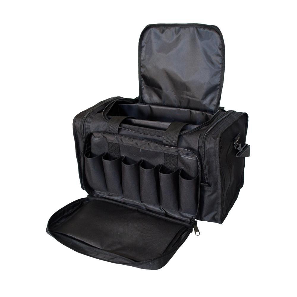 Outdoor Range Bag Tactical Package Nylon Shoulder Diagonal Package Large Capacity Multi-Function Handbag Military Equipment Bag