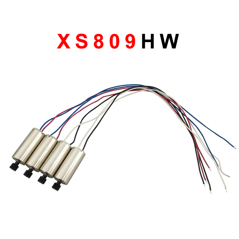 XS809HW XS809W XS809 Motor Spare Parts Visuo FPV RC Quadcopter Drone Engine Accessories Kits