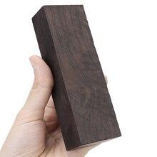 Madera de ébano para manualidades, madera rara, bloque de madera para manualidades, 12*4*2,5 cm