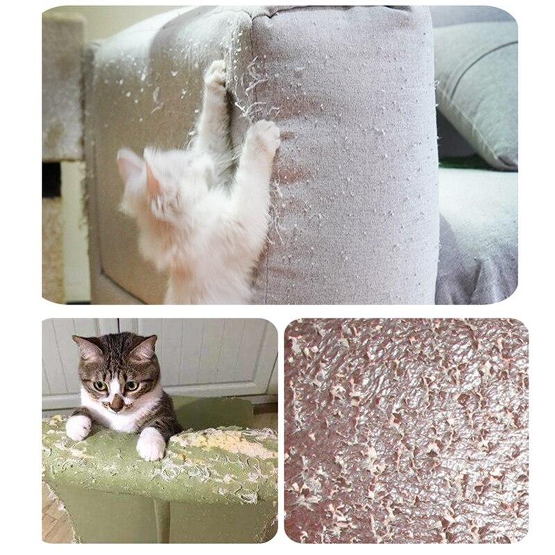 Gato para mascotas que rasgu/ña la estera que rasgu/ña el poste para proteger sus muebles contra da/ño