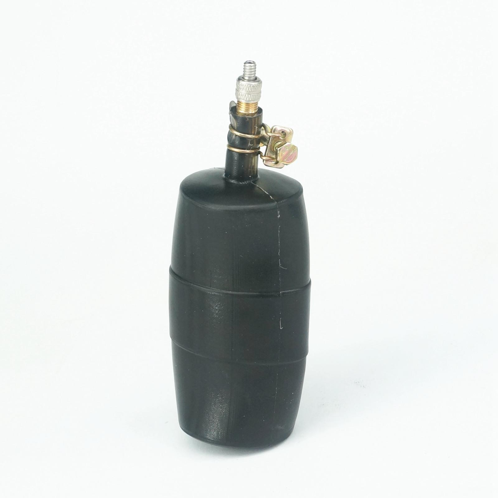 """Fit Pipe Inner Diameter 45-63mm 2"""" Natural Natural Rubber Drain Air Bag Inflatable Bung Stop Plug Block 0.25 Bar"""
