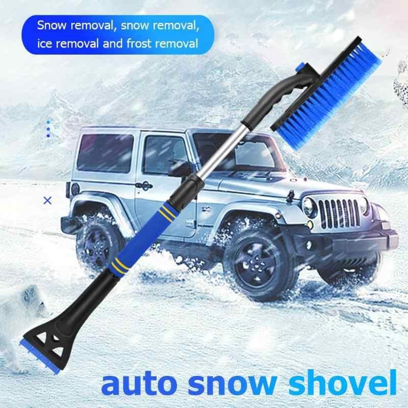 Auto Sneeuw Borstel Bekwame Productie Afneembare Telescopische Auto Sneeuw Borstel Ijs Schop Schraper Auto Voertuig Winter Tool
