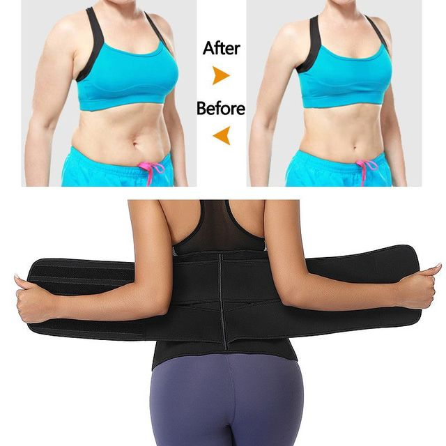 Slimming Abdomen Belt Chlorine Fiber Girdle Belt Postpartum Strengthening Sports Girdle Yoga Waistband Sweat Band 4