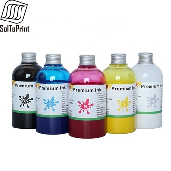 200ML*5 DTF Ink Film Transfer Ink For DTF Direct Transfer Film Printer For DTF Printing PET Film Printing And Transfer For Epson 1