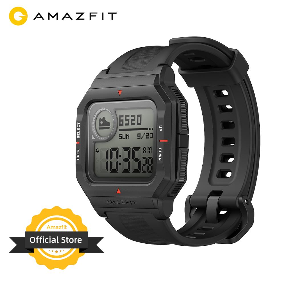 In Stock 2020 Amazfit Neo Smart Watch Bluetooth Smartwatch 5ATM Heart Rate Tracking 28Days Battery Life For Android IOS Phone|Smart Watches| - AliExpress