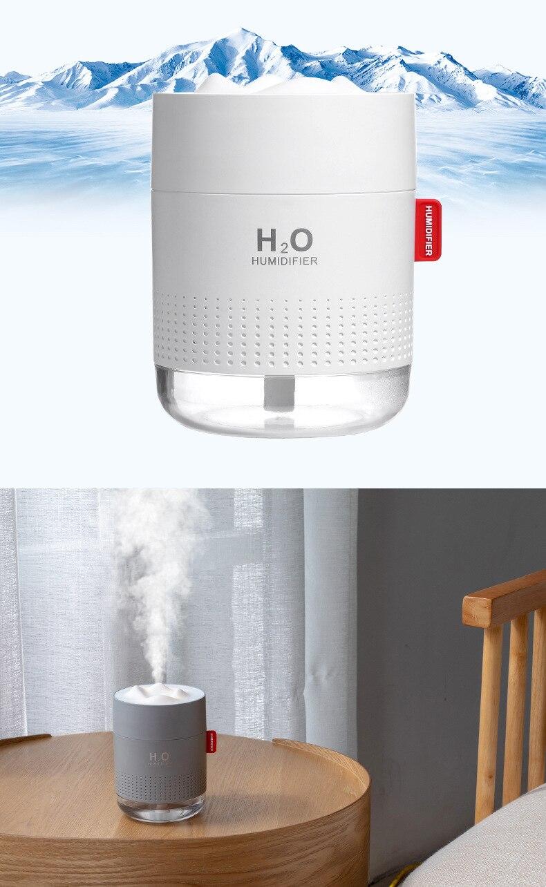 Небольшой ночной Светильник Usb Capped с функцией очистки воздуха, увлажнитель воздуха в спальне, Рабочий стол для работы в офисе, увеличит влажность