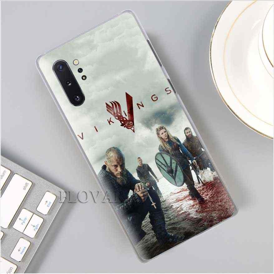 Vikings Serie 4 Phone Cases para Samsung Galaxy Note 10 S10 Plus 5G S10e A30 A40 A50 A60 A70 m40 Coque Capa Dura