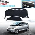 Dashboard Cover Schützende Pad für Toyota Previa 50 2006 ~ 2019 XR50 Estima Tarago Zubehör Dash Board Sonnenschirm Teppich Anti Uv-in Autoaufkleber aus Kraftfahrzeuge und Motorräder bei