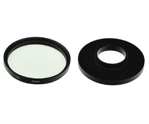 Image 2 - UV Lens Filter 52mm + Alloy Adapter Ring + Lens Cap Protector for Gopro Hero 3 3+ 4 Accessories Set