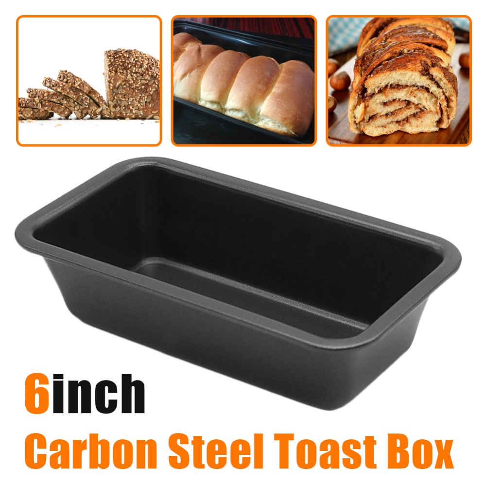 Silicone Bread Toast Loaf Cake Baking Mold Mould Maker Box Pan DIY J9J2 NEW W0R6