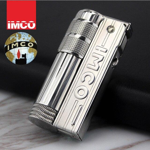Original autriche IMCO rétro briquet, acier inoxydable briquet kérosène huile briquet 6700 hommes cadeau de fumer