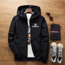 2021 Spring And Summer New Jacket Men's Street Windbreaker Hoodie Zipper Thin Jacket Men's Casual Jacket 7XL