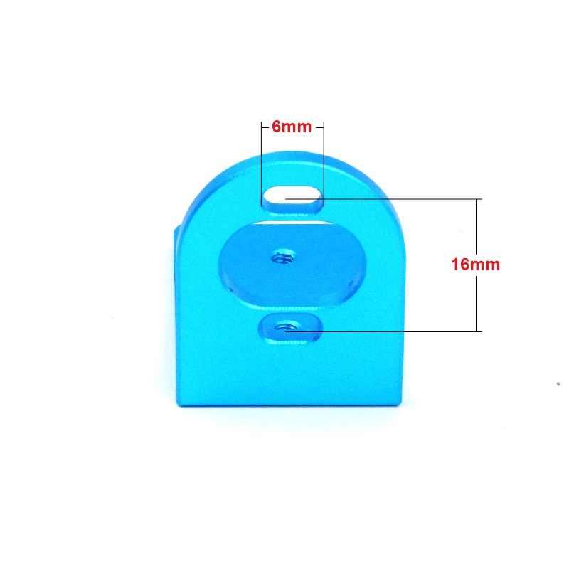 CNC réglable en métal usiné 370 L support de moteur pour RC brushless BLDC 370 380 390 2030 2040 2435 moteurs de taille similaire