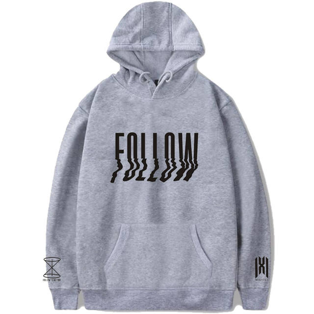 MONSTA X FOLLOW FIND YOU THEMED HOODIE