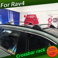 Crossbar rack Newest roof rail luggage bar roof rack for Toyota RAV4 2020 OE model 100% compatibility factory Outlet