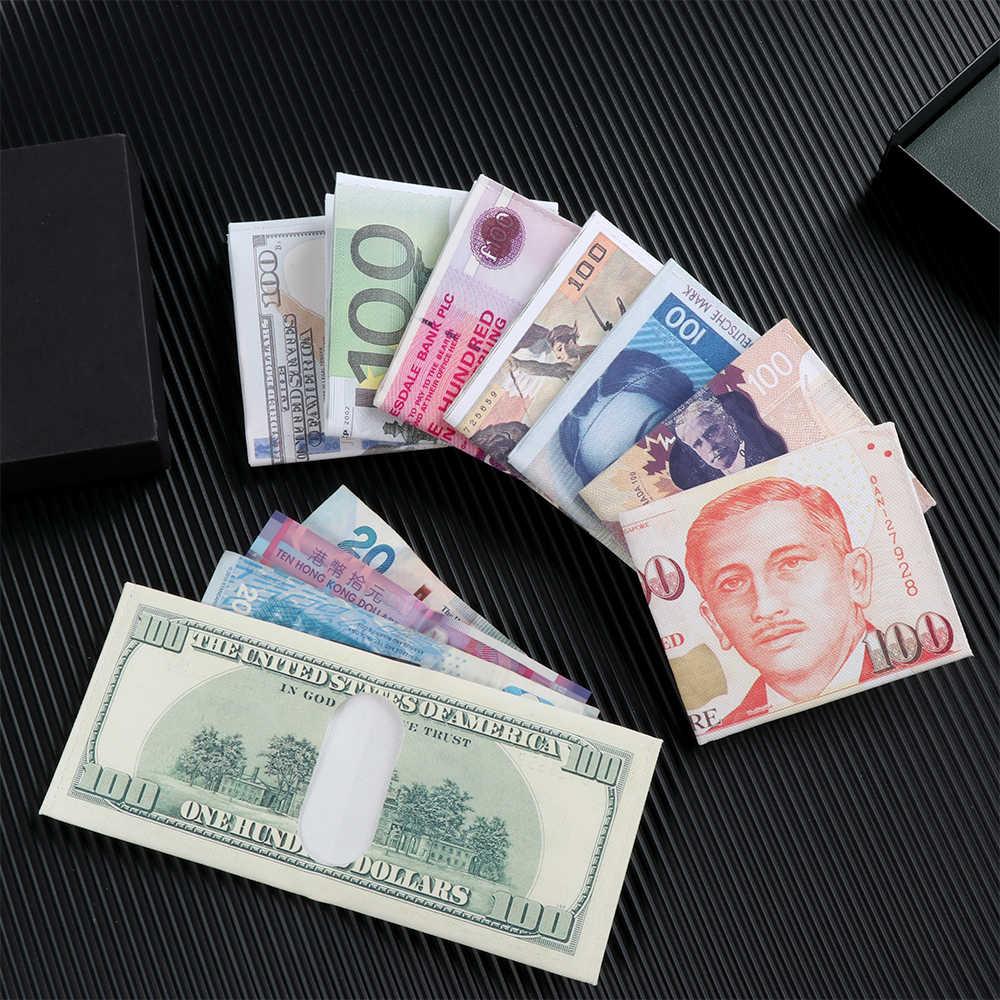 אופנה חדש Creative ארנק מטבע הערות דפוס הלירה דולר אירו ארנק הדפסת כסף דפוס בד ארנק
