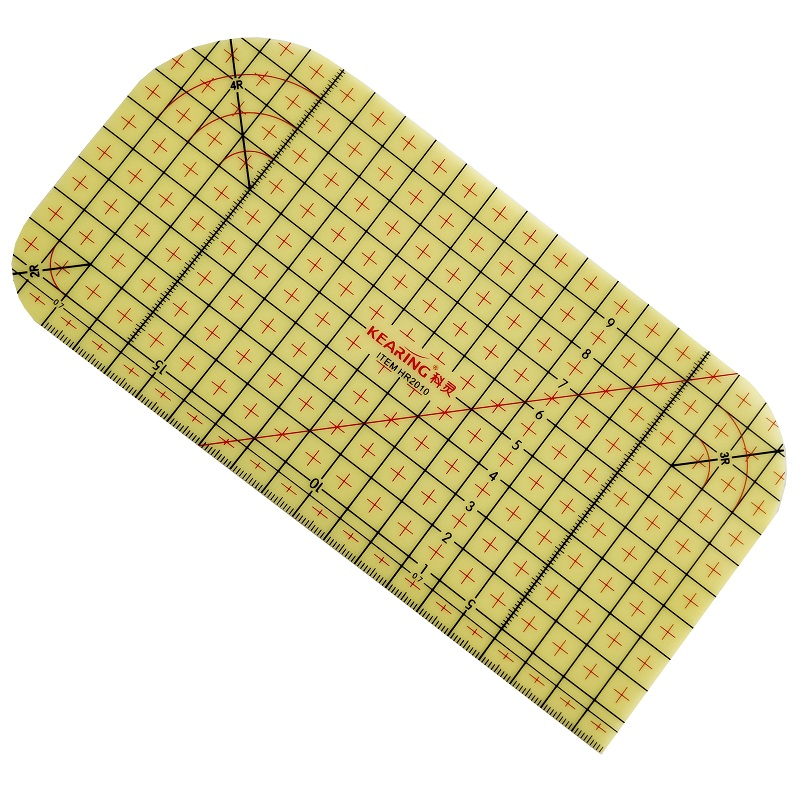 20cm Hot Ironing Ruler Sewing Patchwork Ruler Heat Resistant Ruler Under 220 Degree, HR2010