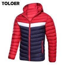 2020 새로운 남성 겨울 자 켓 코트 후드 패션 파 카 남자 Thicken 고품질 코트 남성 상위 슬림 맞는 브랜드 남자 따뜻한 오버 코트