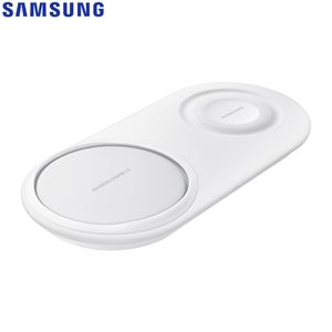 Image 5 - Fast QI Wireless Charger Dual Pad EP P5200 For Samsung Galaxy Note8 Note9 Watch Gear S2 Huawei Mate20 Pro Xiaomi 9 Iphone XR Max