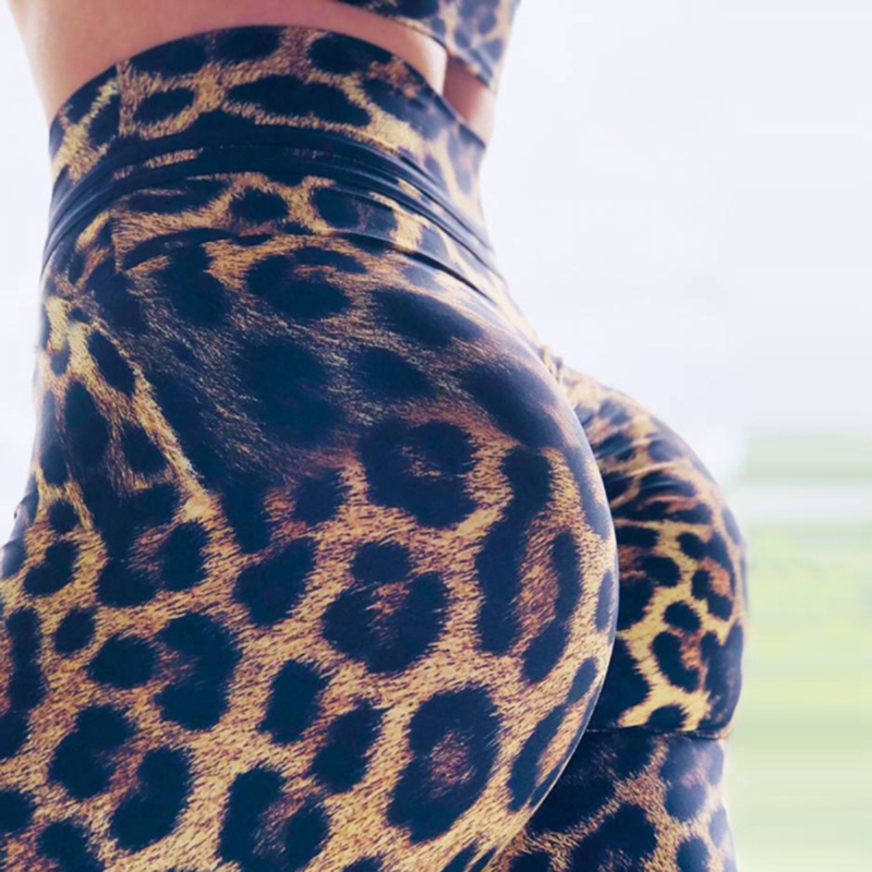 2020 Fashion Women Leggings Slim High Waist Elasticity Leggings Leopard Printing Leggins Woman Pants Leggings