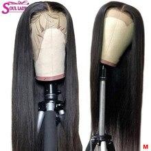 13x4 13x6 360 perucas retas da parte dianteira do cabelo humano transparente remy 150 peruca do laço do cabelo malaio pré-arrancado e descorado nós peruca do laço