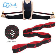 Dr.Qiiwi Yoga Band Professional Gymnastic Latin Training Bands Multi-functional Pilates Yoga Stretch Resistance Bands Fitness El