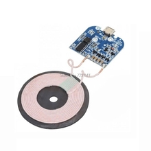 Qi Wireless Charging Standard Receiver Charger Module For Micro USB Mobile Phone Charger Board DC 5V