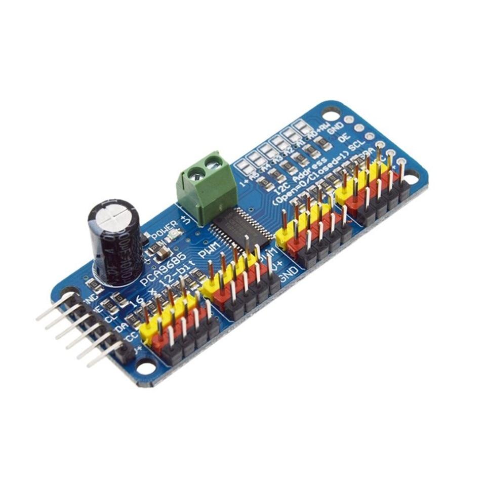 1pcs PCA9685 16 Channel 12-bit PWM Servo Motor Driver I2C Module Robot