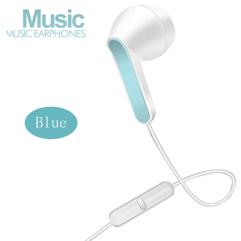 U52 3.5MM Wire Earphone Stereo IN-Ear Headphone Running Music Game Earphone Noise Cancel For Mobile Phone PC PAD Laptop With Mic