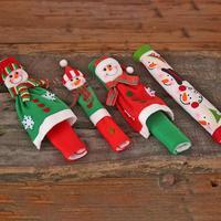 3 шт./4 шт. микроволновая печь Ручка дверцы холодильника крышка термостойкая перчатка рождественские украшения для дома