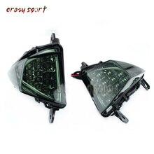 Ön dönüş sinyal göstergesi flaşör işık lambası KAWASAKI ZX6R ZX10R Z750 Z1000 NINJA 650R ER6N ER6F motosiklet aksesuarları