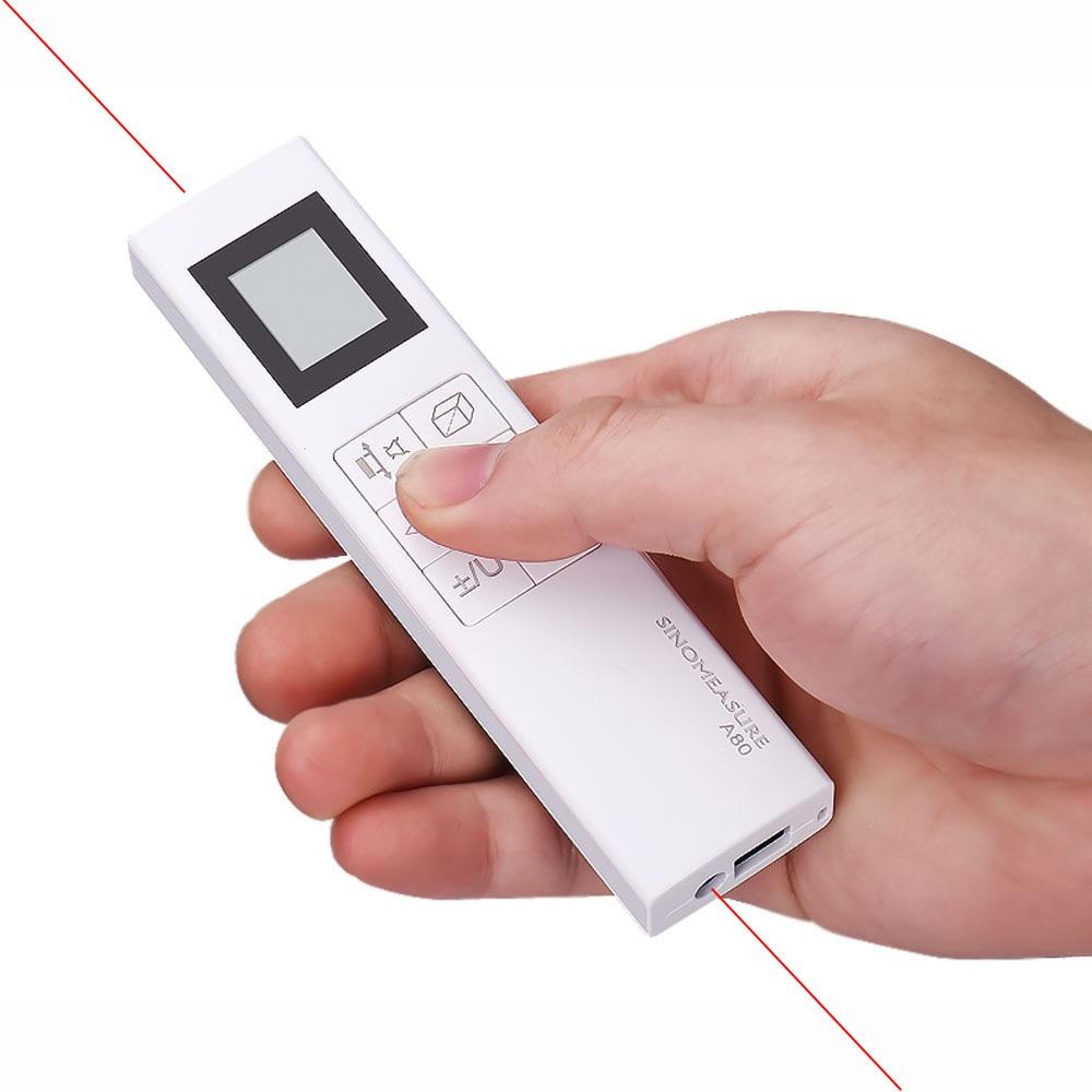 Bothway medidor de distância a laser 80m rangefinder faixa régua diastímetro ferramenta handheld medida área volume telemétrico