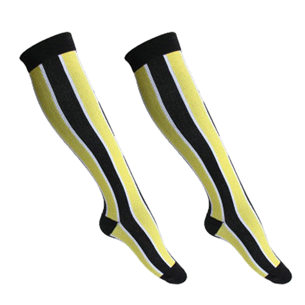 Women Fitness Running Jogging Hiking Feet Knee Leg Compression Socks Long Stockings